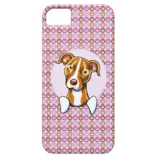 Pit Bull Girly Pink Paw Prints iPhone 5 Case