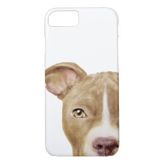 Pit Bull Golden Brown iPhone 7 Case