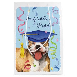 Pit Bull Graduate Medium Gift Bag
