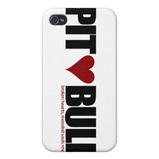 Pit Bull Love iPhone 4 Cover