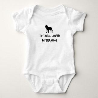 Pit bull lover baby bodysuit