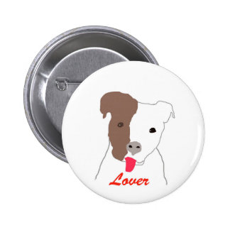 Pit Bull Lover Button