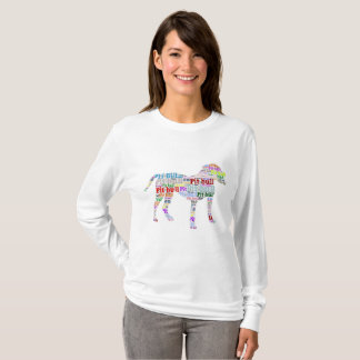 Pit Bull Lover Colorful Dog Shirt