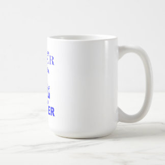 PIT BULL LOVER NOT A FIGHTER COFFEE MUG