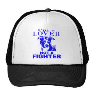 PIT BULL LOVER NOT A FIGHTER MESH HAT