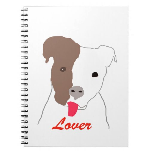Pit Bull Lover Note Book
