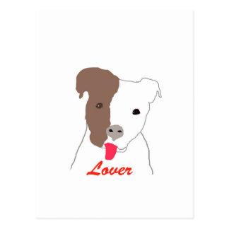 Pit Bull Lover Postcard