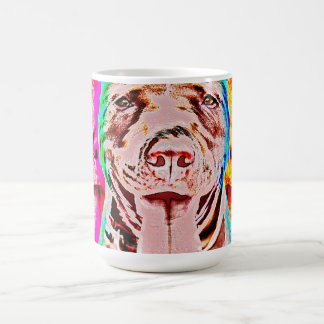 Pit Bull Pop Art Coffee Mug