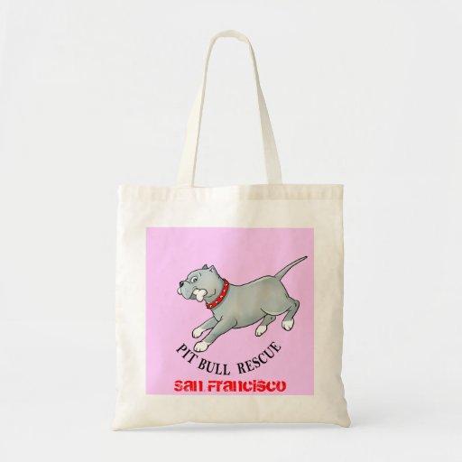 Pit Bull Rescue - Customise Bag