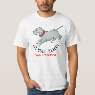 Pit Bull Rescue - Customise T-shirt