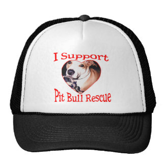 Pit bull Rescue Hat