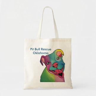 Pit Bull Rescue Oklahoma Tote Bag