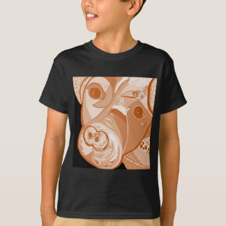 Pit Bull Sepia Tones T-Shirt