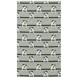 Pit Bull T-Bone Graphic Tablecloth