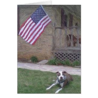 Pit Bull Terrier Notecard