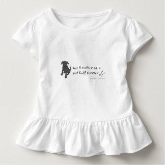pit bull terrier toddler T-Shirt