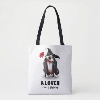 Pit Bull Tote Bags   Unique Dog Lover Gifts