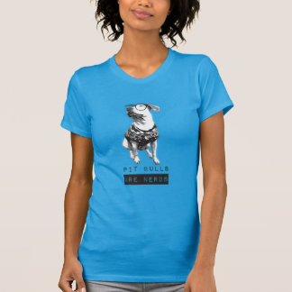 Pit Bulls are Nerds Women's Basic T-Shirt