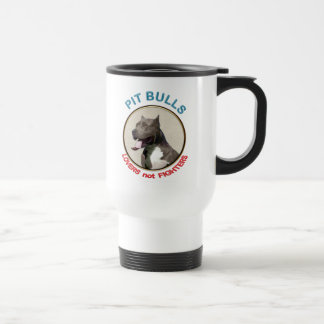Pit Bulls Lovers not Fighters Coffee Mugs