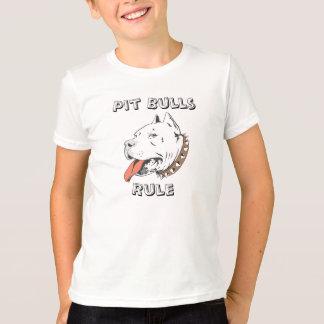 Pit Bulls Rule Boys Tee Shirt