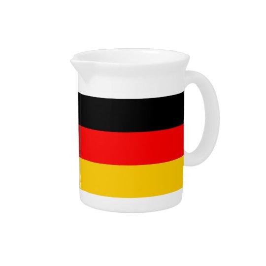 Pit Cher Germany flag Pitcher