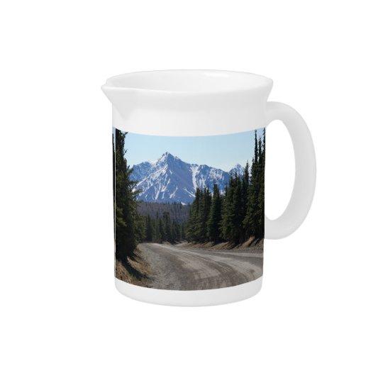Pit Cher highway in Alaska Beverage Pitcher