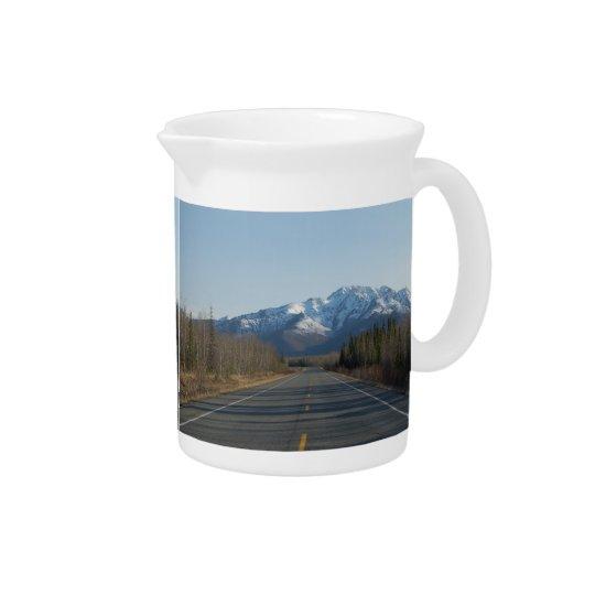 Pit Cher highway in Alaska Pitcher