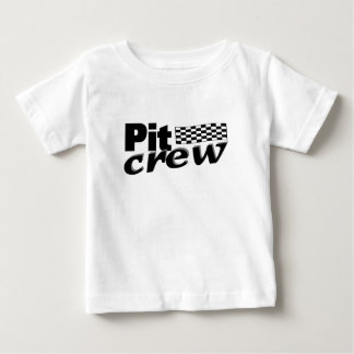 Pit Crew (Racing Flag) Baby T-Shirt
