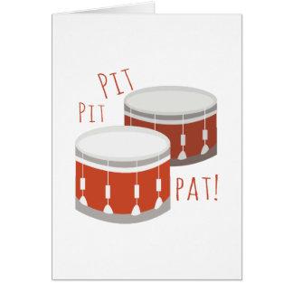 Pit Pit Pat Card