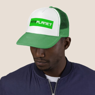 Pita Planet Font (GW) Trucker Hat