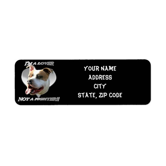 Pitbull address labels