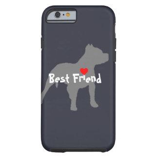"""Pitbull """"Best Friend"""" phone case"""