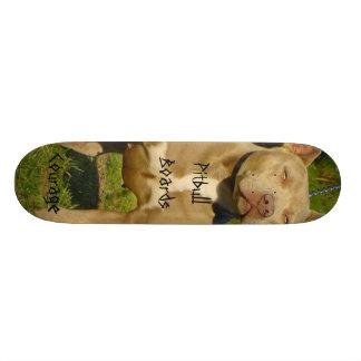 Pitbull Boards Courage Custom Skateboard