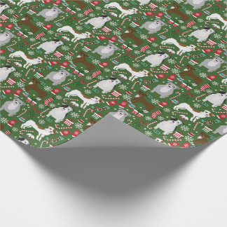 Pitbull Christmas wrapping paper