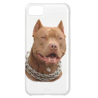 Pitbull dog iPhone 5C case
