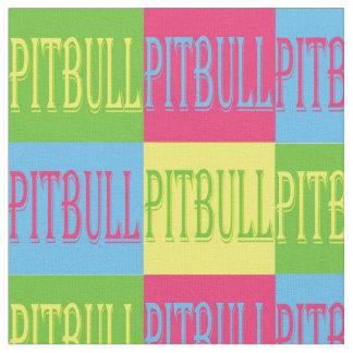 Pitbull fabric