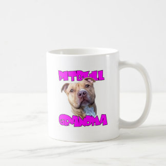 Pitbull Grandma Coffee Mug