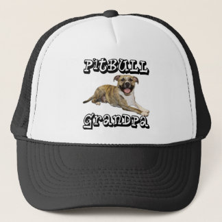 PitBull Grandpa - Tigger Trucker Hat