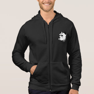 Pitbull Hoodie Black - for men and woman