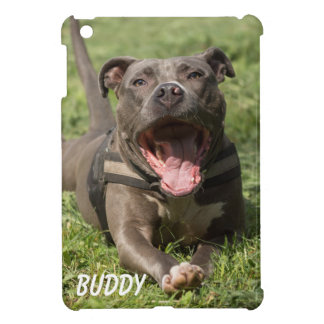 Pitbull In Grass Case For The iPad Mini