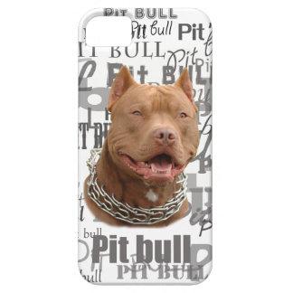 Pitbull iPhone 5 Cover
