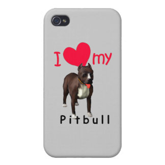 Pitbull iPhone 4 Cover
