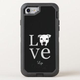 Pitbull Love OtterBox Defender iPhone 8/7 Case