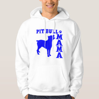 PitBull Mama, blue Hoodie