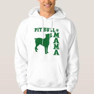 PitBull Mama, green Hoodie