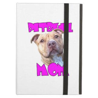 Pitbull Mom Dog Cover For iPad Air