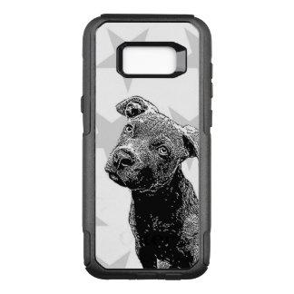 Pitbull puppy Samsung Galaxy S8 case