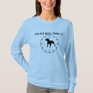 Pitbull time T-Shirt