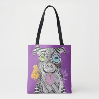 Pitbull Tote Bag (You can Customize)