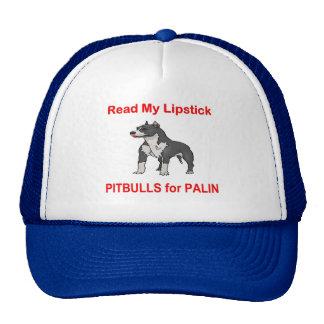 Pitbulls for Palin, Sarah Palin Trucker Hat
